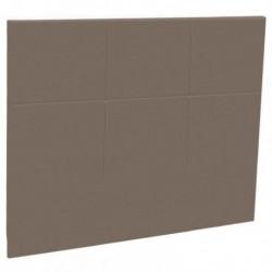 Tetes de lits Tête de lit CARREE Cappuccino style cuir Epeda Deco
