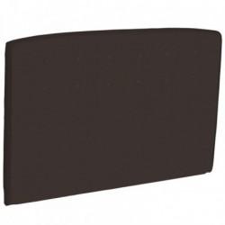 Tetes de lits Tête de lit CAPITONNEE Chocolat style cuir Epeda Deco
