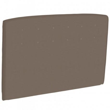 epeda t te de lit capitonn e cappuccino style cuir. Black Bedroom Furniture Sets. Home Design Ideas
