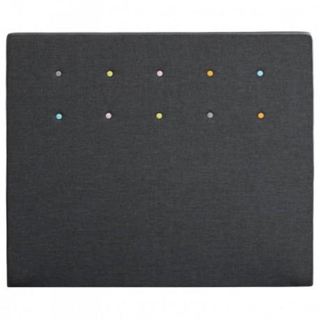 m rinos t te de lit lollypop gris anthracite. Black Bedroom Furniture Sets. Home Design Ideas