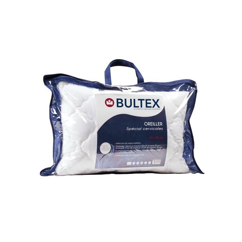 Oreiller sp cial cervicales bultex - Oreillers pour cervicales ...