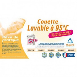 Couettes Couette LAVABLE 95°C willefert