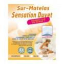 Sur-Matelas SENSATION DUVET