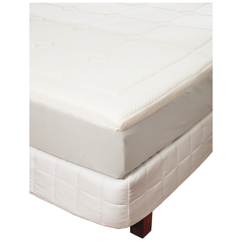 surmatelas confort sur matelas mousse m moire de forme. Black Bedroom Furniture Sets. Home Design Ideas