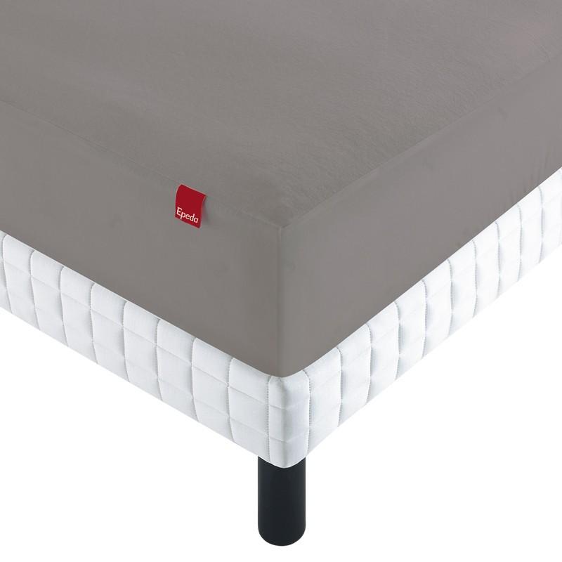 drap housse prot ge matelas 2 en 1 epeda linge de lit literie. Black Bedroom Furniture Sets. Home Design Ideas